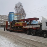 Перевозка негабаритных и тяжеловесных грузов, аренда трала, Уфа