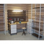 Мебель в гараж (верстак+стеллаж), Уфа