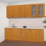 Кухня шарлотта-1 ольха 220см, Уфа