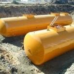 Резервуар горизонтальный стальной РГС-50 м3 (РГСП-50м3), Уфа