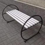 Мебель из металла. Столы, скамейки, Уфа