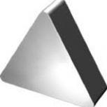 Пластина 2010 0056 ВОК 60 трехгранная гладкая без отверстия, Уфа