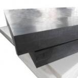 Капролон графитонаполненный черный лист 6 мм, Уфа