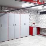 Мебель для гаража в комплекте (верстак, шкафы), Уфа