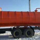 Автоцистерна ассенизационная 15 кубов, Уфа