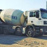 Автобетоносмеситель для перевозки бетона или раствора, Уфа