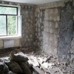 Демонтажные работы слом стен и домов, Уфа