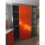 Шкаф-купе металлический для гаража, Уфа