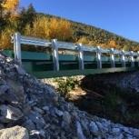 Автомобильный мост из сварных балок быстровозводимый., Уфа