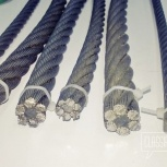Канаты стальные (проволока, тросы, лана, прутки) к продаже, Уфа